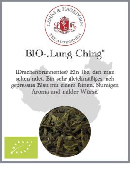 biologischer china Tee Lung Ching
