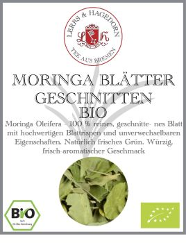 Bio Moringa Vlatter Geschnitten Jetzt Einfach Und Schnell Krauter